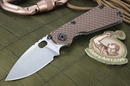 Strider SNG GG Coyote Tan Tactical Folding Knife - OUT OF STOCK