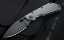 Strider SMF CC Ranger Green - Black Blade Folding Knife - SOLD
