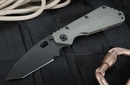 Strider Knives SMF-CC-T Ranger Green and Black Folding Knife -SOLD