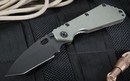Strider Knives SMF-T Ranger Green and Black Tactial Folding Knife - SOLD