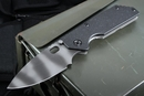 Strider AR Frame Lock Black Tiger Stripe Tactical Folding Knife - SOLD
