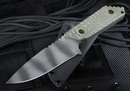 Strider GW/AR-S Ranger Green - Tiger Stripes Tactical Fixed Blade Knife -SOLD