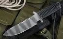 Strider MTL SS Spearpoint Black and Tiger Fixed Blade Knife - SOLD