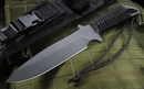 Strider MK1 A Black Blade and Black Cord Tactical Fixed Blade Knife - SOLD
