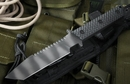 Strider BT SS Black Gunner Grip Tactical Fixed Blade Knife -SOLD
