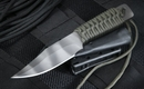 Strider WP Clip Pt. Ranger Green Cord Tactical Fixed Blade Knife - SOLD