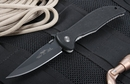 Emerson Gentleman Jim Black Blade Folding Knife
