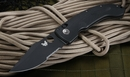 Benchmade 741SBK Onslaught Black Serrated Folding Knife