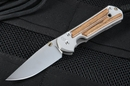 Chris Reeve Small Sebenza 21 Bocote Inlay