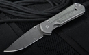 Chris Reeve Small Sebenza 21 Micarta Inlay Stainless Ladder Damascus