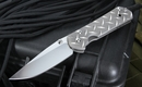 Chris Reeve Large Sebenza Diamond Plate Tactical Folding Knife - OUT OF STOCK