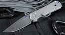 Chris Reeve Large Sebenza 21 Ladder Damascus Folding Knife