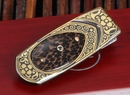 William Henry M1 1106 Gold Koftgari Money Clip
