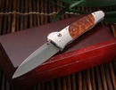 William Henry B30 TSB Snakewood Folding Knife - OUT OF STOCK