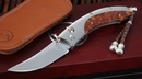 William Henry B11 Burnt Silver Snakewood Folding Knife - OUT OF STOCK