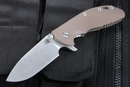 Rick Hinderer Gen 4 XM-24 Brown G-10 Slicer Grind - OUT OF STOCK
