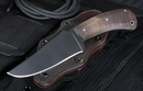 Winkler Belt Knife - KG Finish - Curly Maple - OUT OF STOCK