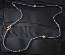 Starlingear Copper & Lapis - Slickster Bronze Micro Bead Necklace - OUT OF STOCK