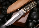 Dietmar Kressler Wilderness Stag Integral Knife 2 -SOLD