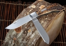 Hiroaki Ohta Two Blade Saddle Horn Folding Knife #1 - SOLD