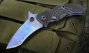 Warren Thomas T Rex Carbon Fiber & Ti Folding Knife - SOLD