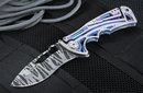 Brian Tighe Small Nirk Tighe Tiger Stripe Folding Knife - SOLD