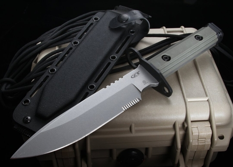 Zero Tolerance ZT-9 Strider Design Bayonet Fixed Blade Knife  - ZT 9