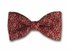 """Bow Tie """"Red Paisley"""""""