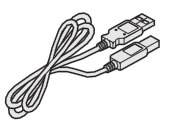 Adder USB cable 2m length (type A to type B)
