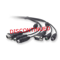 Belkin OmniView All-In-One Universal KVM Cable Kit 10Ft.