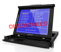 Belkin 15'' LCD Rack Console with Dual-Rail Technology
