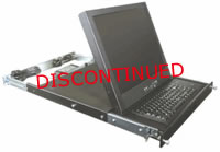 """Rose RackView 15"""" LCD Monitor w/Touchpad"""
