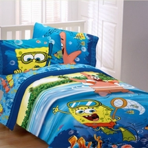 Spongebob SEA ADVENTURE Bedding for Kids