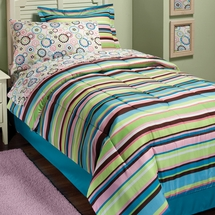 Mia Stripe Bed In A Bag Sets for Girls & Teens
