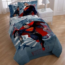 Superman Man of Steel Twin Bedding