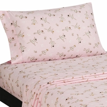 BALLERINA Twin Sheet Set