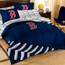 Red Sox Comforter Set with Shams