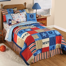 Sports Fan Kids Bedding
