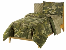 Geo Camo Mini Bed In A Bag for Kids