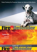 FireDefender Cotton Mattress Pad Sets
