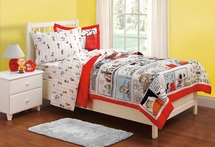 Peanuts Comic Twin  Comforter/Sham Set for Kids