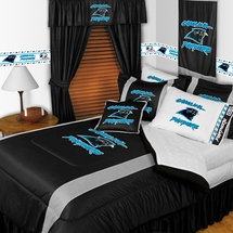 Sidelines CAROLINA PANTHERS Bedding and Accessories