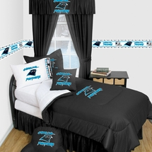 Carolina Panthers Locker Room Bedding & Accessories