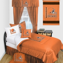 Cleveland Browns Locker Room Bedding & Accessories