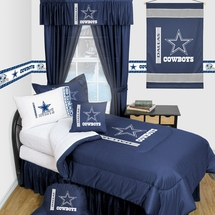 Dallas Cowboys Locker Room Bedding & Accessories