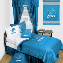 Detroit Lions Locker Room Bedding & Accessories