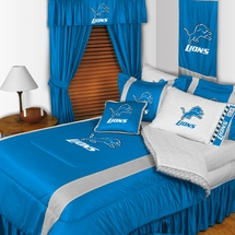 Sidelines DETROIT LIONS Bedding and Accessories