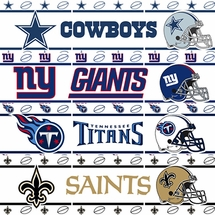 NFL Football Wall Borders