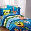 Spongebob SEA ADVENTURE Twin Sheet Set