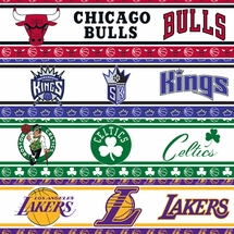 NBA Basketball Wall Borders